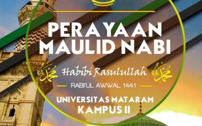 KHUSUS KAMPUS 2 – PERINGATAN MAULID NABI MUHAMMAD SAW 1441 H.