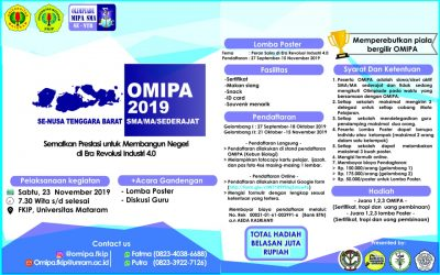 OMIPA FKIP UNRAM 2019