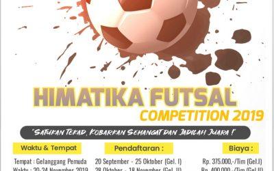 HIMATIKA FUTSAL COMPETITION 2019